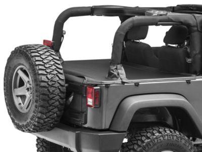 MasterTop Tonneau Cover - Black Diamond (07-18 Jeep Wrangler JK 2 Door)
