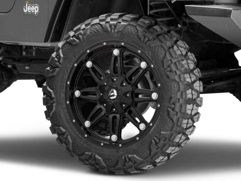 Fuel Wheels Hostage Matte Black Wheel - 20x9 (97-06 Jeep Wrangler TJ)