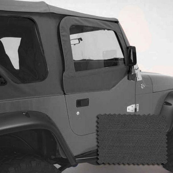 Rugged Ridge Replacement Door Skins - Dark Tan (97-06 Jeep Wrangler TJ)