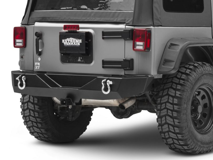Rugged Ridge Tire Carrier Delete Kit (07-18 Jeep Wrangler JK)