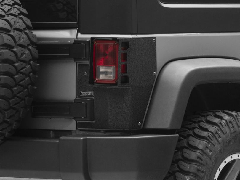 Rugged Ridge XHD Rear Corner Guards (07-18 Jeep Wrangler JK 2 Door)