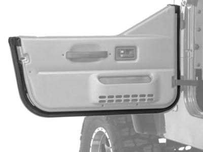 Omix-ADA Driver Door Outer Seal For Half Door (97-06 Jeep Wrangler TJ)