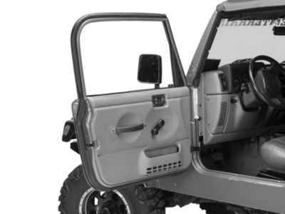 Omix-ADA Driver Outer Door Weather Stripping (97-06 Jeep Wrangler TJ w/ Full Doors)