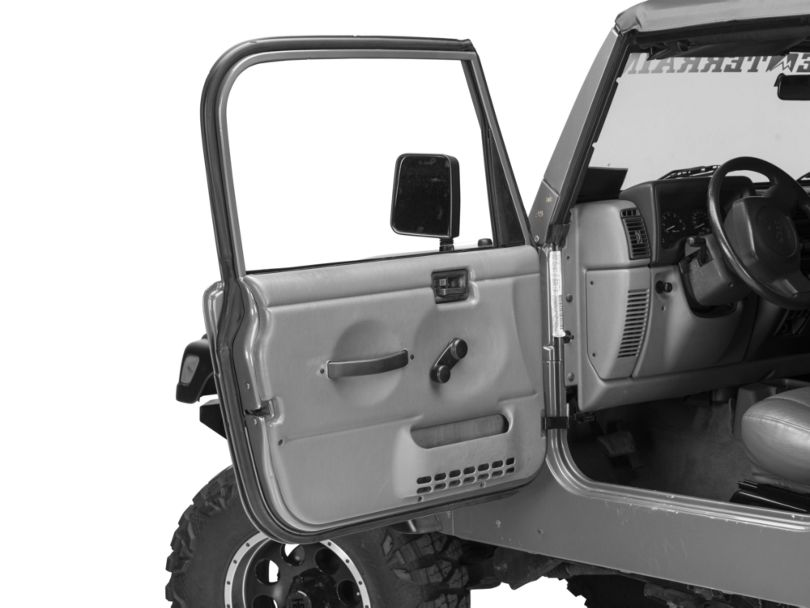 Door Weatherstrip - Driver Side (97-06 Jeep Wrangler TJ)