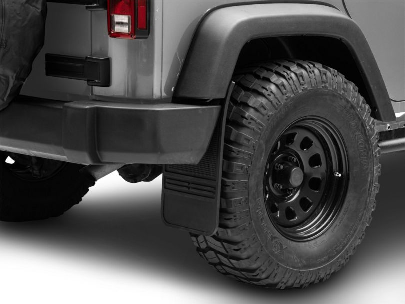 Husky MudDog Front Mud Flaps (Universal Fitment)