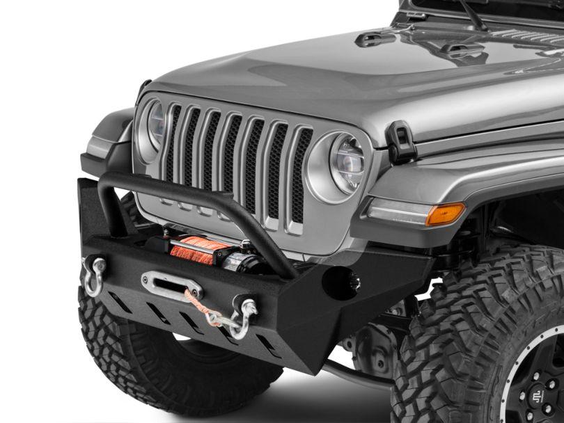 Barricade Extreme HD Full Width Front Bumper w/ LED Fog Lights (18-20 Jeep Wrangler JL)