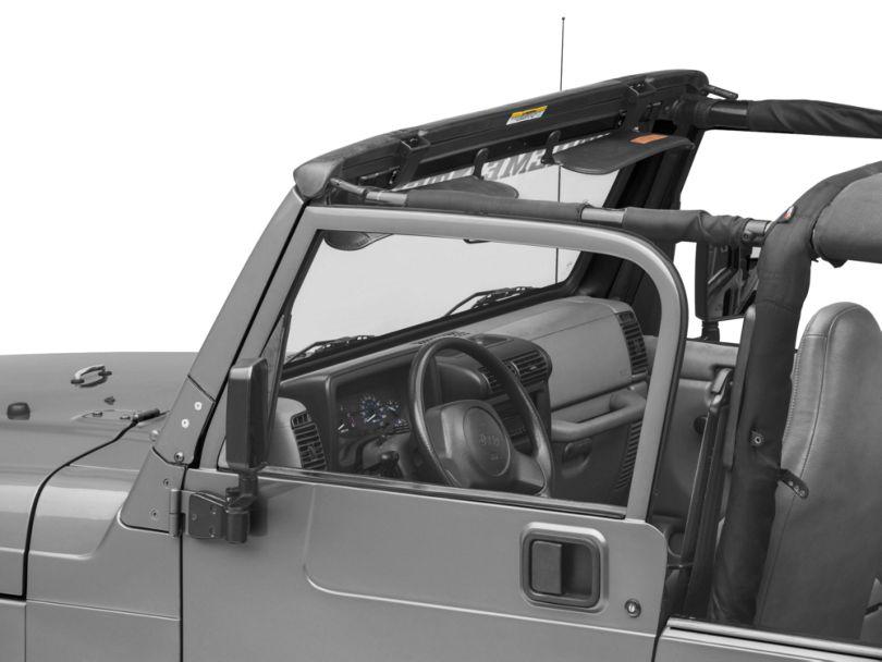 Bestop Factory Style Windshield Header Assembly (97-06 Jeep Wrangler TJ)