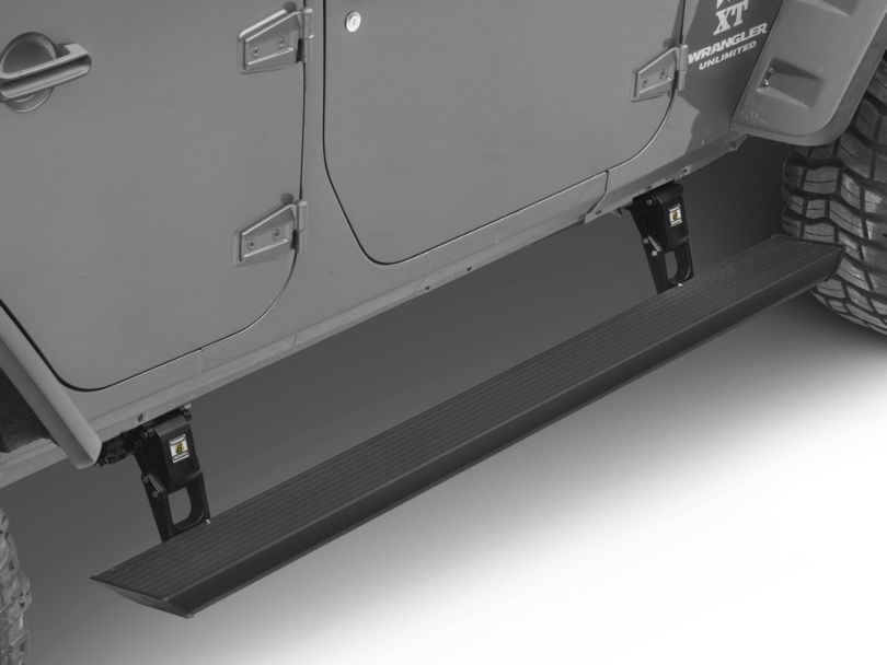 Bestop Powerboard Automatic Running Boards (07-18 Jeep Wrangler JK 4 Door)