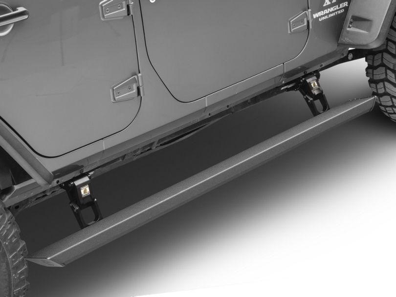 Bestop Powerboard NX Automatic Running Boards (07-18 Jeep Wrangler JK 4 Door)