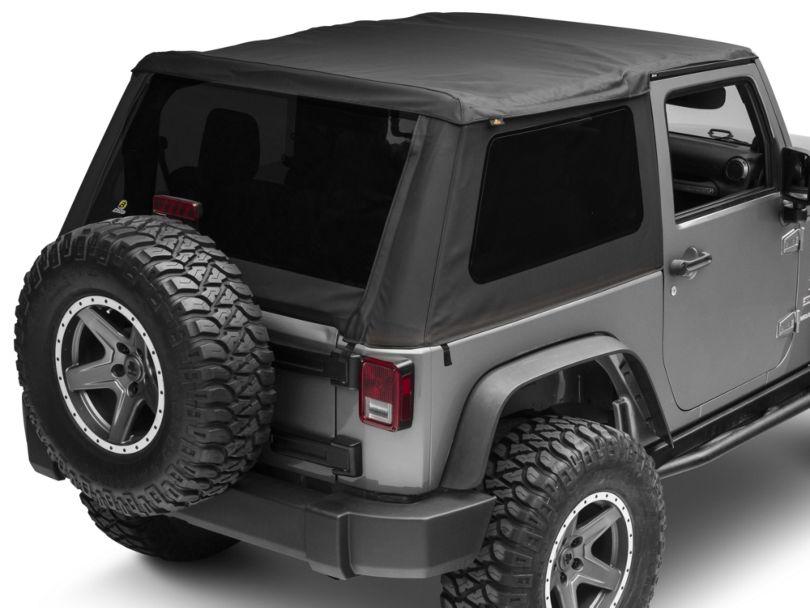 Bestop Trektop NX Soft Top - Black Diamond (07-18 Jeep Wrangler JK 2 Door)
