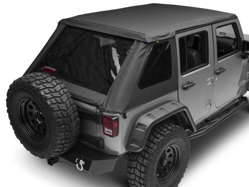 Bestop Trektop NX Soft Top; Black Diamond (07-18 Jeep Wrangler JK 4 Door)