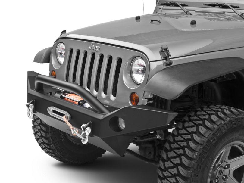 OR-Fab Full Width Front Bumper w/ Center Winch Mount (07-18 Jeep Wrangler JK)