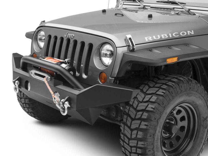 OR-Fab Full Width Front Bumper w/ Top Winch Mount (07-18 Jeep Wrangler JK)
