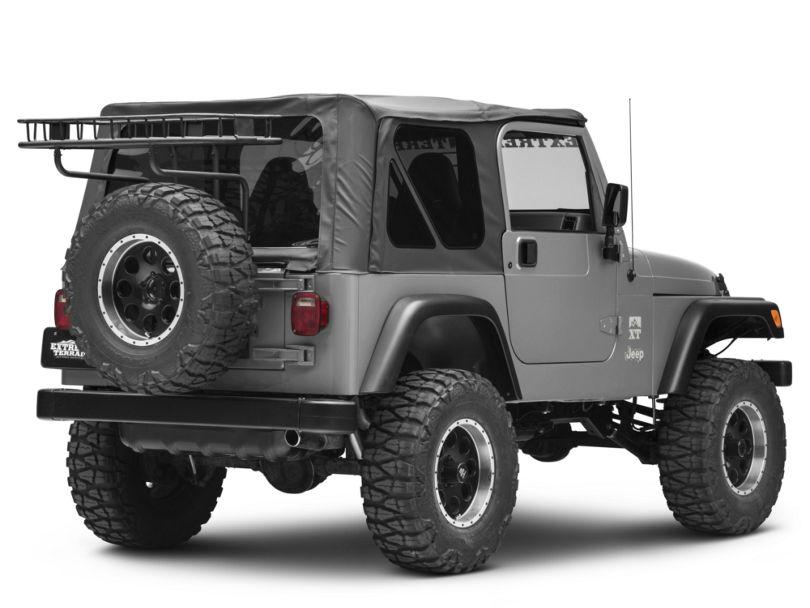 Rugged Ridge Trail Rack (87-02 Jeep Wrangler YJ & TJ)