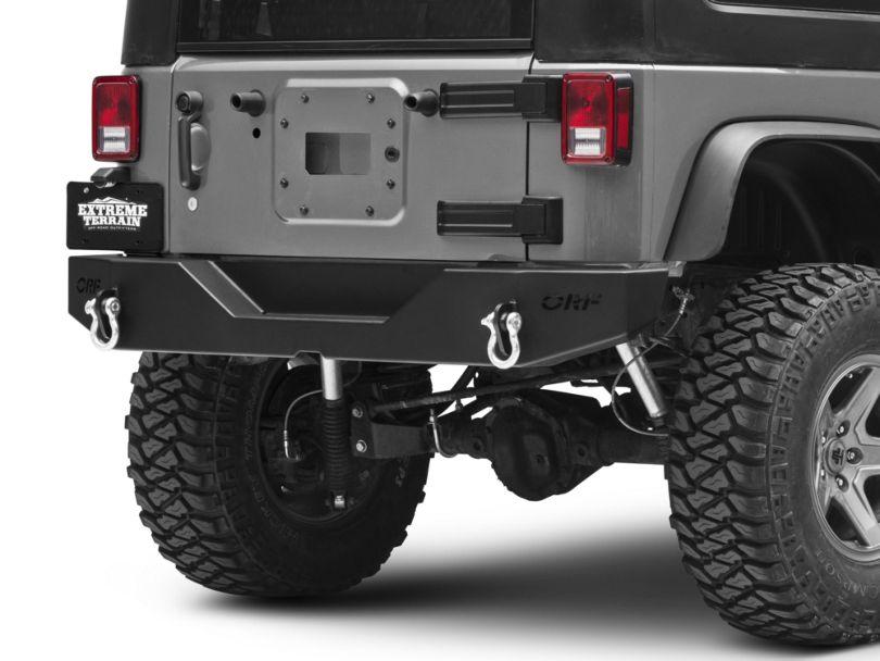 OR-Fab Rear Bumper (07-18 Jeep Wrangler JK)