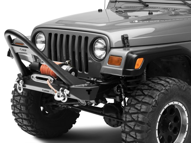 OR-Fab Winch Front Bumper with Stinger (97-06 Jeep Wrangler TJ)
