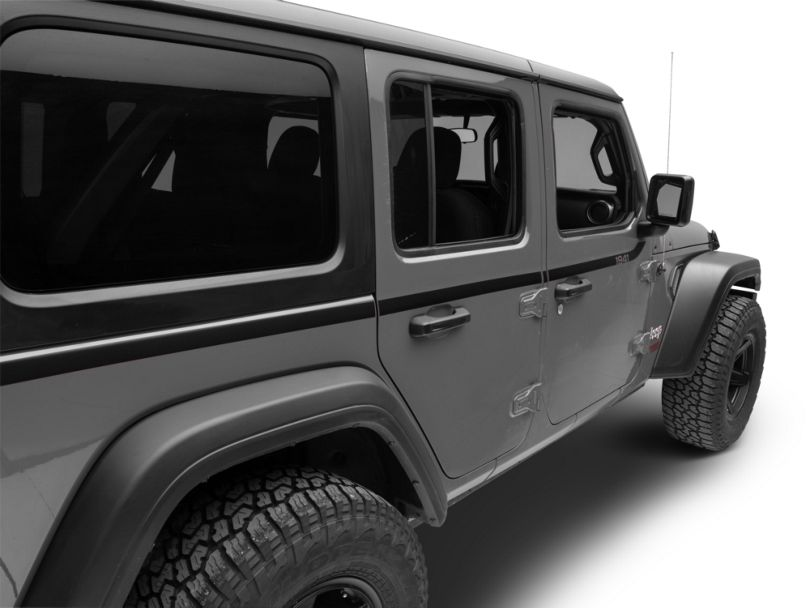 Mopar 1941 Swoosh Side Decal (18-20 Jeep Wrangler JL 4 Door)