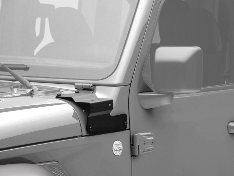 Mopar A-Pillar Light Mounting Brackets (18-20 Jeep Wrangler JL)