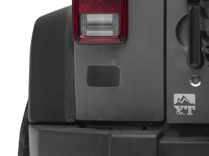 License Plate Relocation Plate (07-18 Jeep Wrangler JK)
