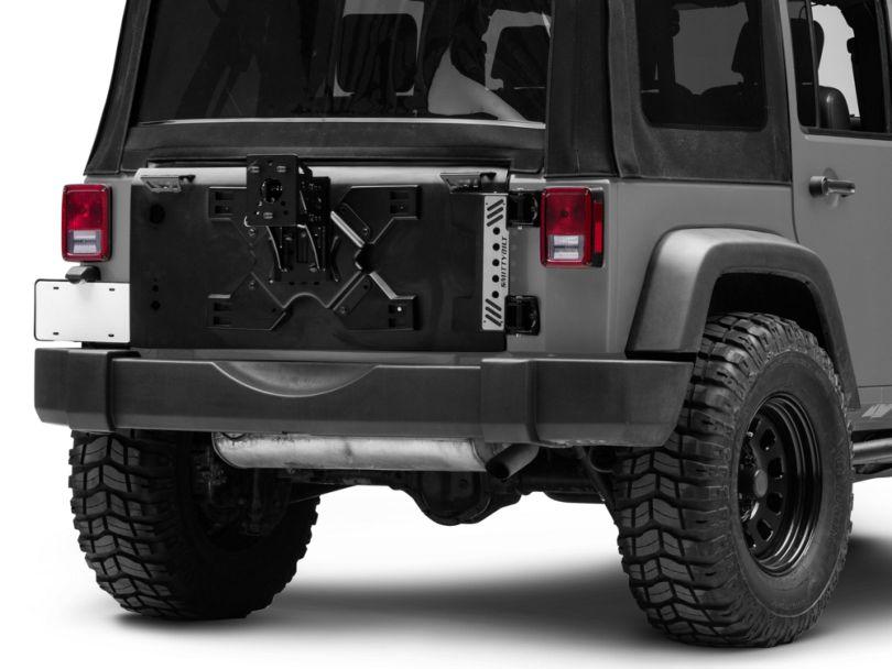 Smittybilt XRC Tailgate w/ Tire Carrier (07-18 Jeep Wrangler JK)