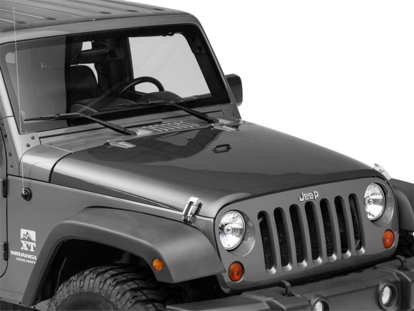 Anderson Composites Type-OE Hood - Carbon Fiber (07-18 Jeep Wrangler JK)