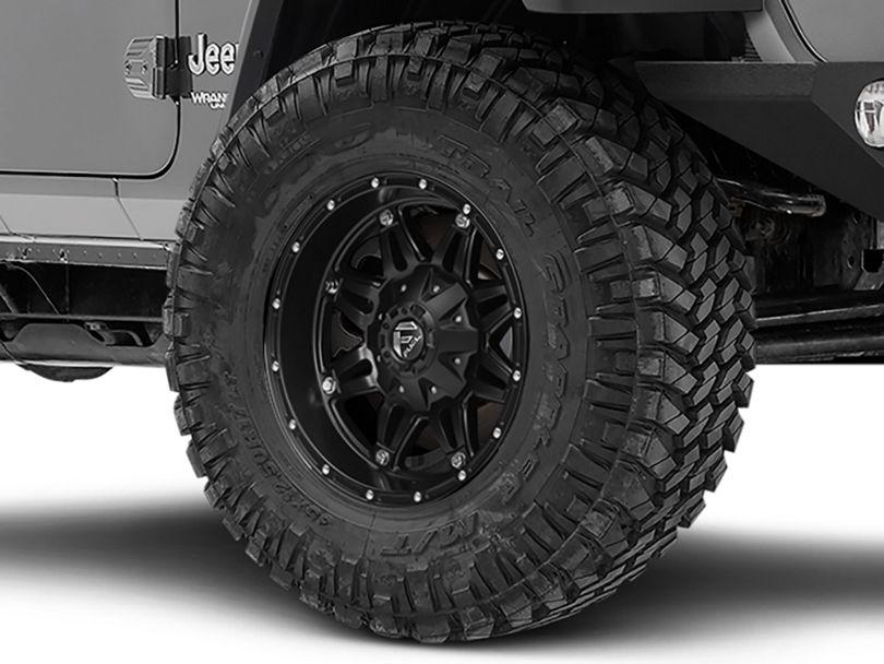 Fuel Wheels Hostage Matte Black Wheel - 17x9 (18-20 Jeep Wrangler JL)