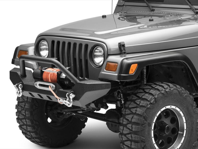 Barricade Adventure HD Bumper with D-Rings (87-06 Jeep Wrangler TJ)