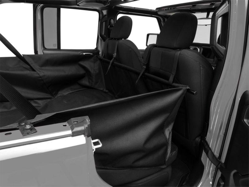 Dirty Dog 4x4 Cargo Liner; Black (18-20 Jeep Wrangler JL 4 Door)