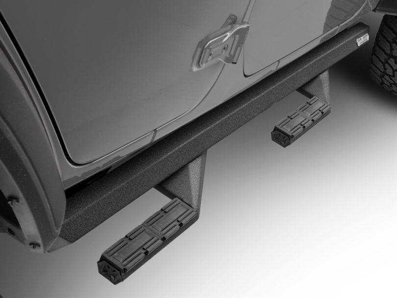 Iron Cross Side Arm Steps - Black (18-20 Jeep Wrangler JL 4 Door)