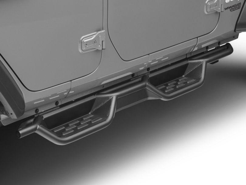 RedRock 4x4 HD Drop Side Step Bars (18-20 Jeep Wrangler JL 4 Door)
