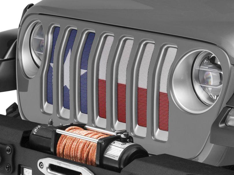 Under the Sun Grille Insert - Always Bigger (18-20 Jeep Wrangler JL)