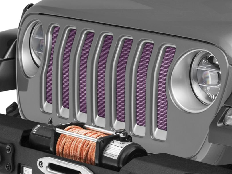 Under the Sun Grille Insert - Pink (18-20 Jeep Wrangler JL)