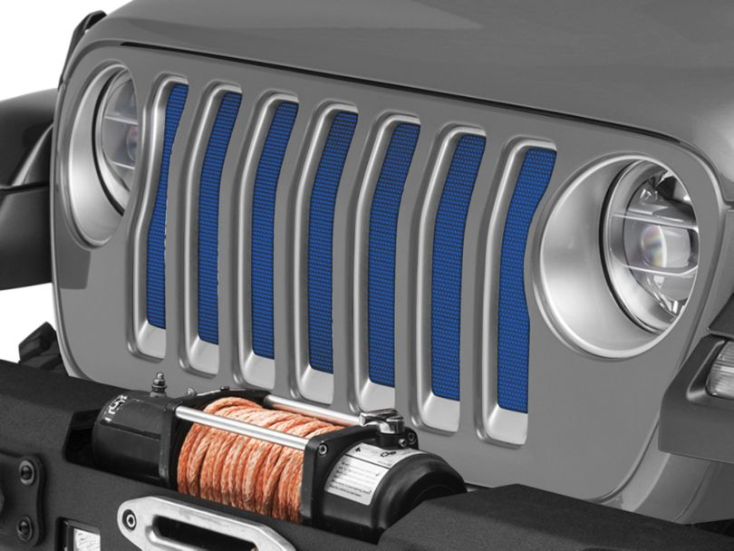 Under the Sun Grille Insert - Surf Blue Pearl (18-20 Jeep Wrangler JL)