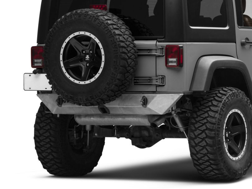 VKS Fabrication Shorty Rear Bumper (07-18 Jeep Wrangler JK)