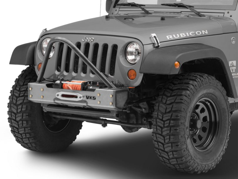 VKS Fabrication The Shield Front Bumper Stinger (07-18 Jeep Wrangler JK)
