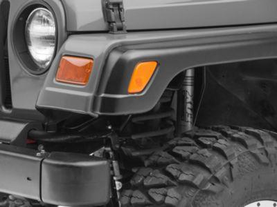 Omix-ADA Front Marker Light Lamp Lens - Left Side (97-06 Jeep Wrangler TJ)