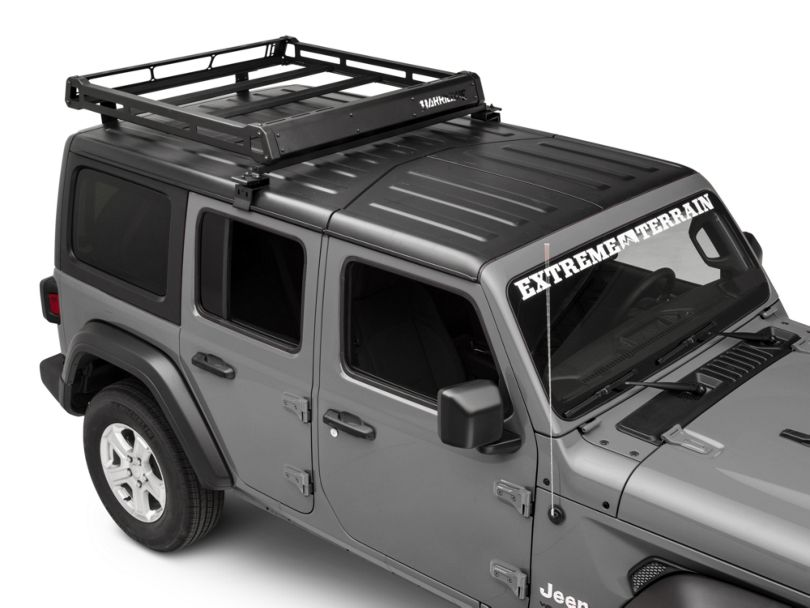 Barricade Removable Hard Top Roof Basket for OEM Hard Top (18-20 Jeep Wrangler JL 4 Door)