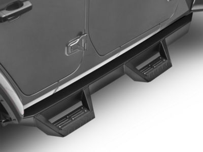 ICI Magnum RT Series Cab Length Side Step Bars - Black (2018 Jeep Wrangler JL 4 Door)