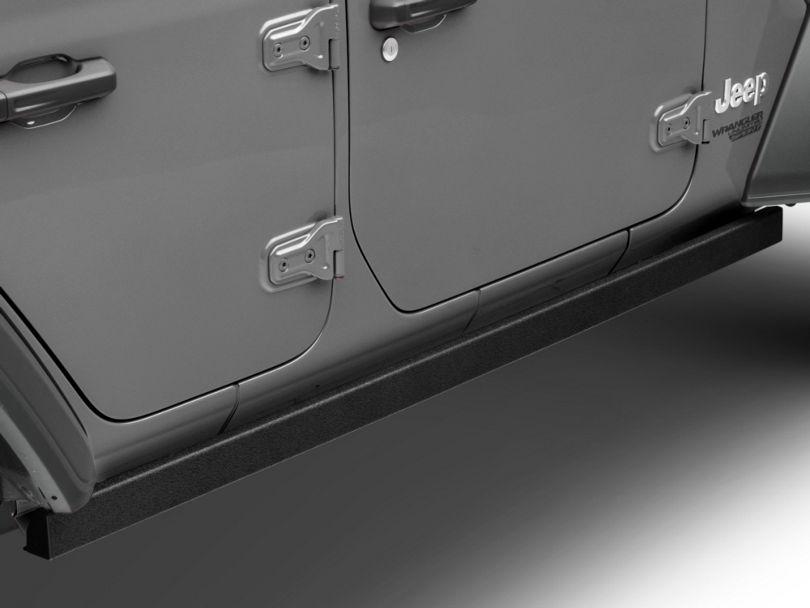 Barricade Rubi Rails; Textured Black (18-20 Jeep Wrangler JL 4 Door)