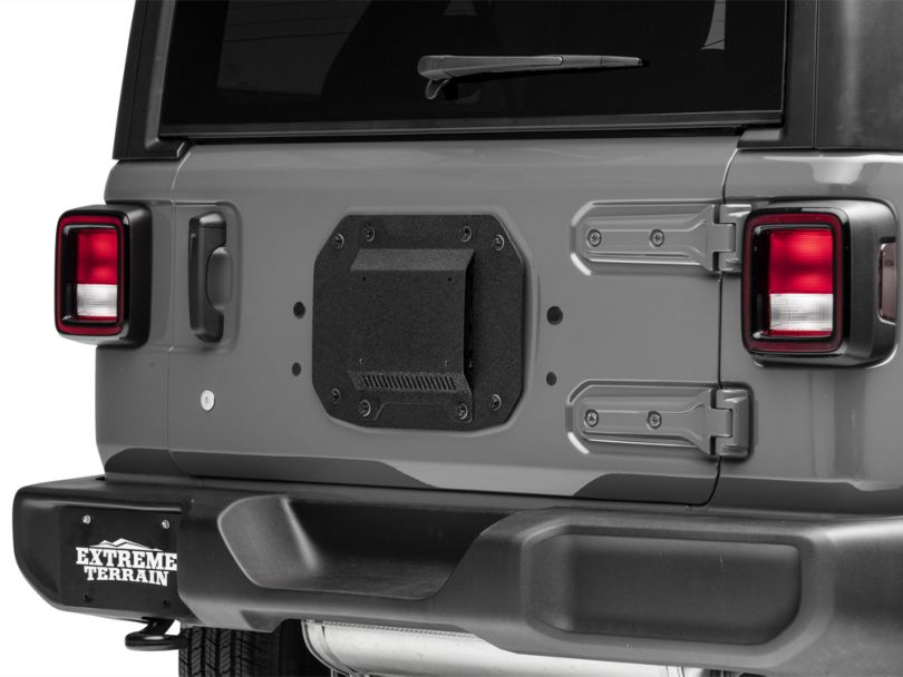 Barricade Spare Tire Delete w/ License Plate Mount (18-20 Jeep Wrangler JL)