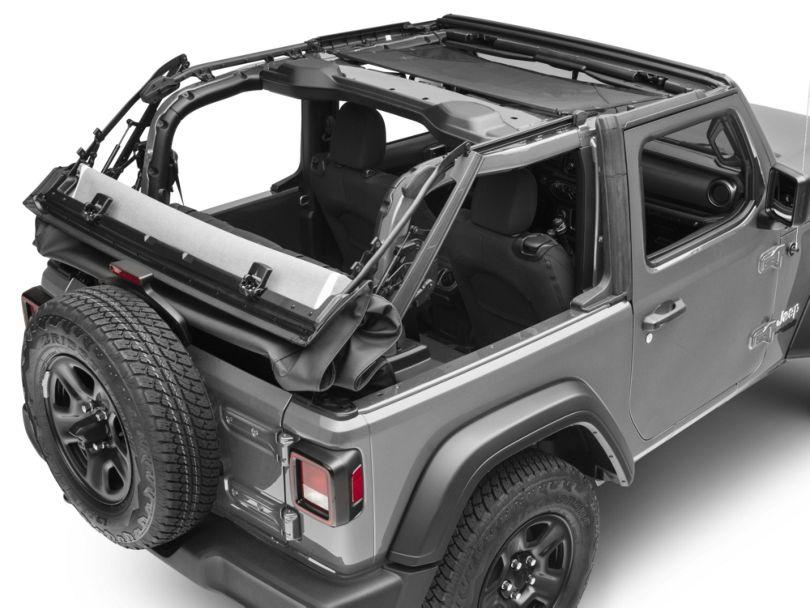 Dark Forest HalfShade Top (18-20 Jeep Wrangler JL 2 Door)