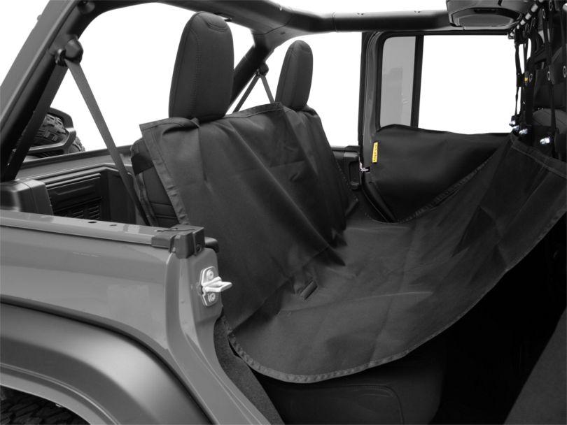 Dirty Dog 4x4 Pet Divider w/ Hammock & Door Protectors - Black (18-20 Jeep Wrangler JL 4 Door)