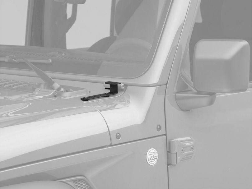 Hauk Off-Road A-Pillar Light Mounts (18-20 Jeep Wrangler JL)