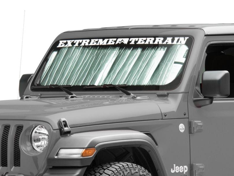 Weathertech TechShade Windshield Sun Shade (18-20 Jeep Wrangler JL)