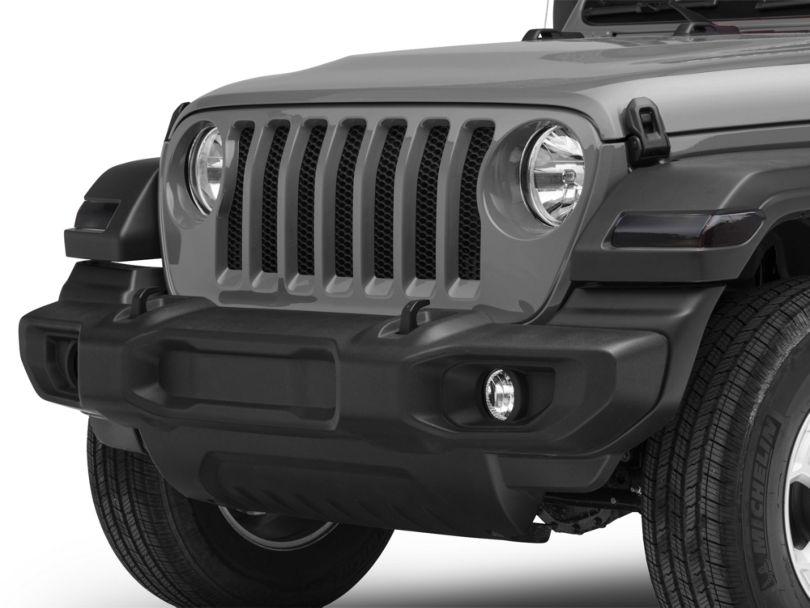 Front Light Tint - Dark (18-20 Jeep Wrangler JL)