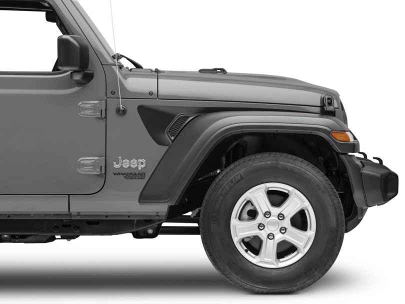 Side Accent - Matte Black (18-20 Jeep Wrangler JL)