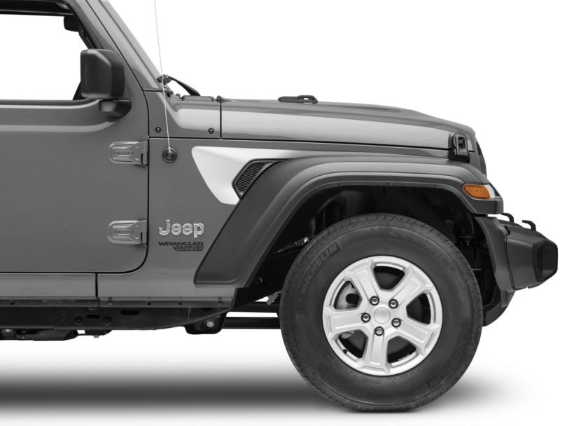 Side Accent - Silver (18-20 Jeep Wrangler JL)