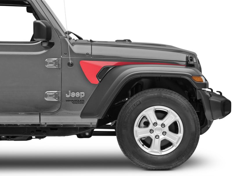 Side Accent - Red (18-19 Jeep Wrangler JL)