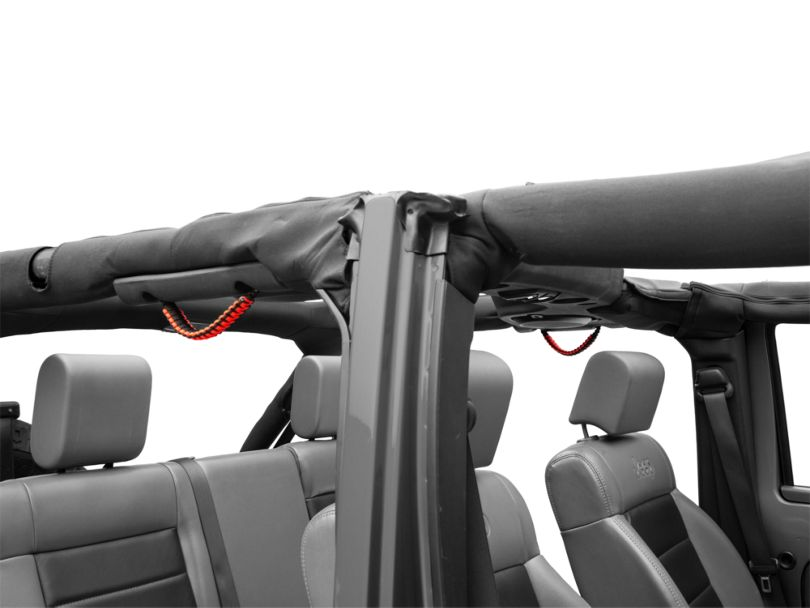 Alterum Jeep Wrangler Rear Soundbar Paracord Grab Handles