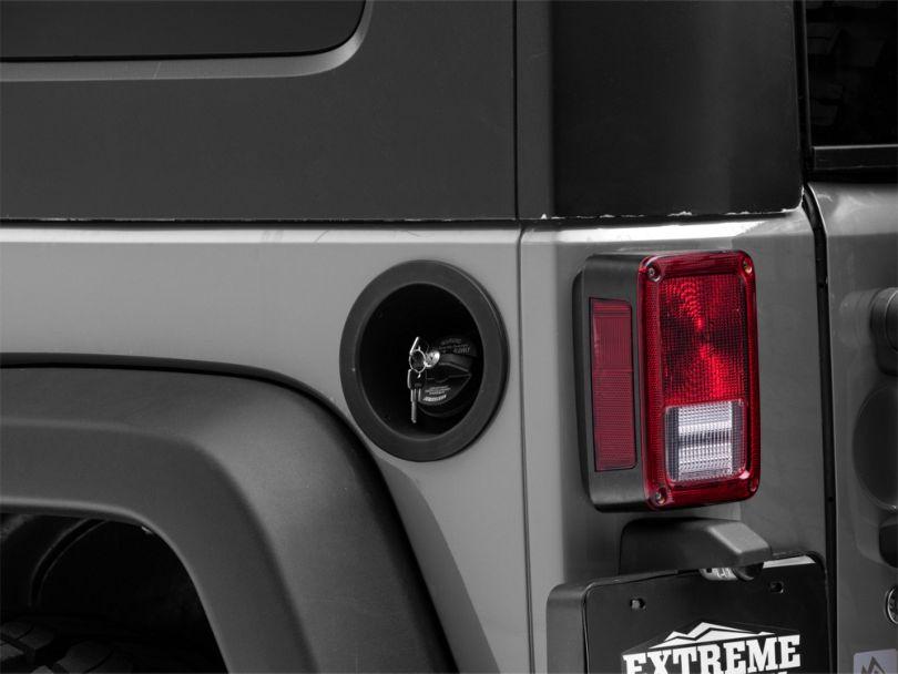 Locking Gas Cap (03-18 Jeep Wrangler TJ & JK)